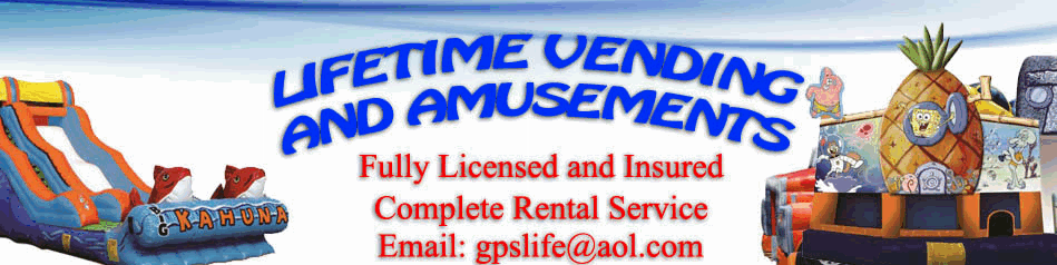 lifetime vending and amusements